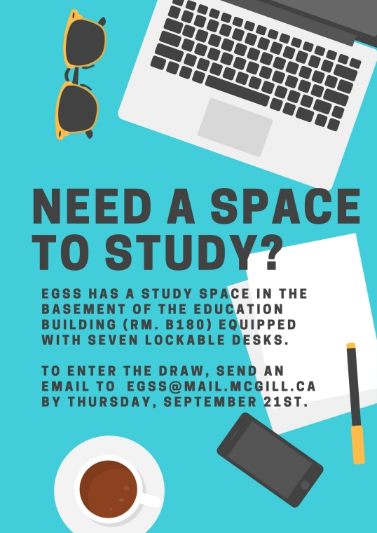 Need a study space- (1)