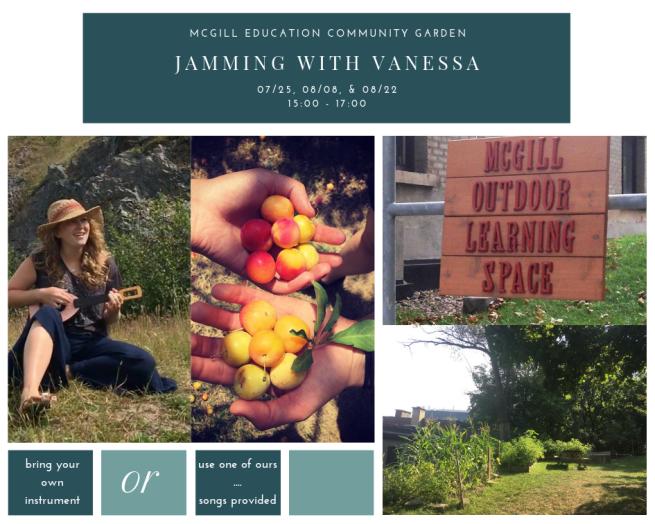 Jamming with Vanessa