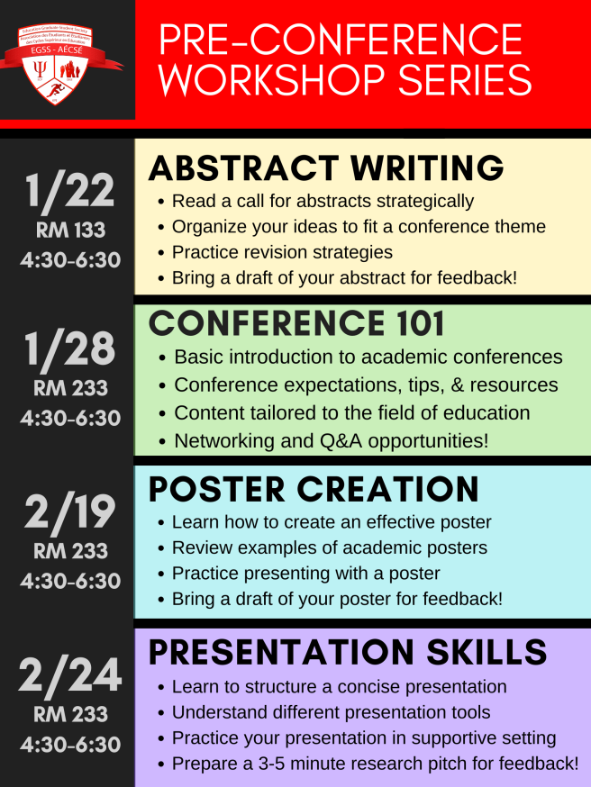 Workshop Series 2020